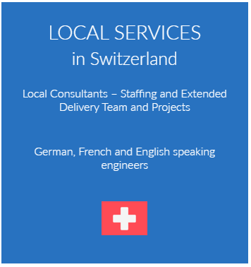 Local Consultants – Staffing and Extended Delivery Team and Projects local services switzerland